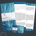Flyer & Visitenkarte für Sichtweise Marga Bielesch